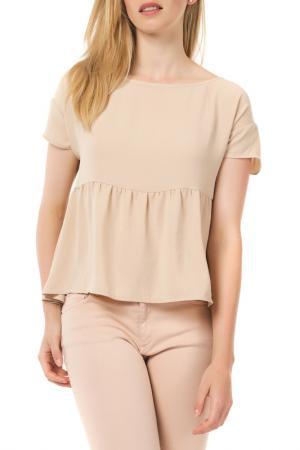 Блуза American Vintage. Цвет: бежевый