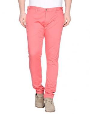 Повседневные брюки ALV ANDARE LONTANO VIAGGIANDO. Цвет: коралловый