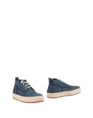 Полусапоги и высокие ботинки BARLEYCORN. Цвет: синий