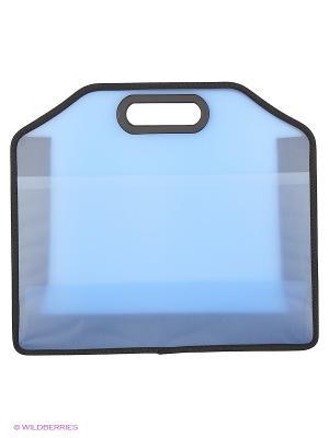 Папка пластиковая, одно отделение. Sagaform. Цвет: синий
