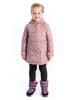 Куртка марта Аксарт. Цвет: розовый