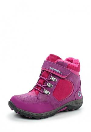 Ботинки Merrell. Цвет: розовый