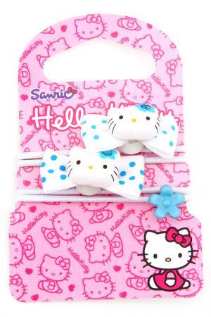Резинка, 2 шт. Hello Kitty. Цвет: белый