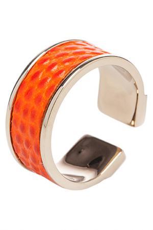 Кольцо STAMERRA. Цвет: оранжевый