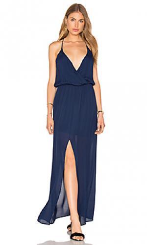 Вечернее платье hess Rory Beca. Цвет: синий