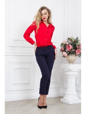 Блузка SARTORI DODICI. Цвет: красный