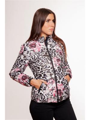Куртка Gaudi. Цвет: черный, розовый, белый
