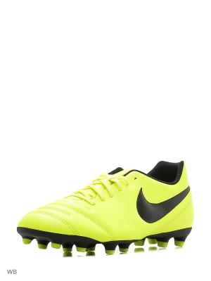 Бутсы TIEMPO RIO III FG Nike. Цвет: желтый