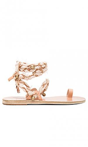 Сандалии clotho Ancient Greek Sandals. Цвет: беж