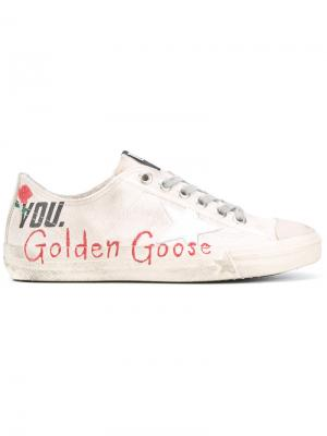 Кеды Superstar Golden Goose Deluxe Brand. Цвет: телесный