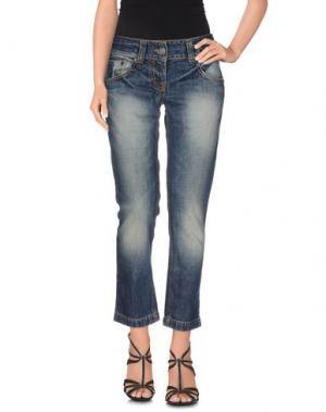 Джинсовые брюки BRIAN DALES DENIM. Цвет: синий