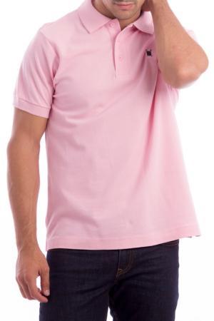 Футболка-поло POLO CLUB С.H.A.. Цвет: розовый