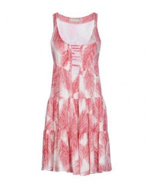 Короткое платье PAOLA FRANI. Цвет: красный