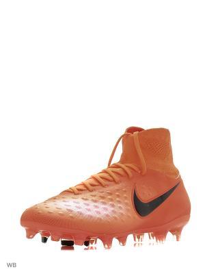 Бутсы MAGISTA ORDEN II FG Nike. Цвет: оранжевый