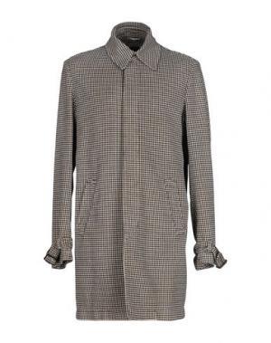 Легкое пальто LUIGI BIANCHI MANTOVA. Цвет: черный