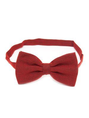 Галстук-бабочка Churchill accessories. Цвет: темно-красный, терракотовый, бордовый, красный, горчичный