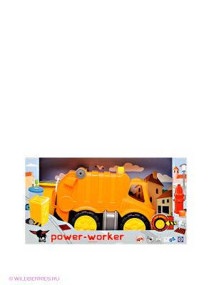 Мусоровоз ВIG-POWER-WORKER BIG. Цвет: оранжевый, черный