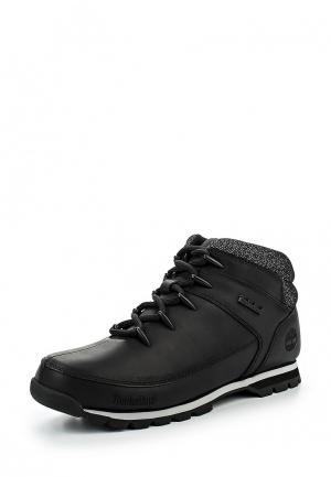 Ботинки трекинговые Timberland. Цвет: черный