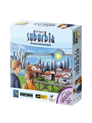 Suburbia (вкл. дополнение Inc.) Cosmodrome Games. Цвет: синий
