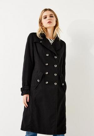 Пальто Boss Hugo. Цвет: черный
