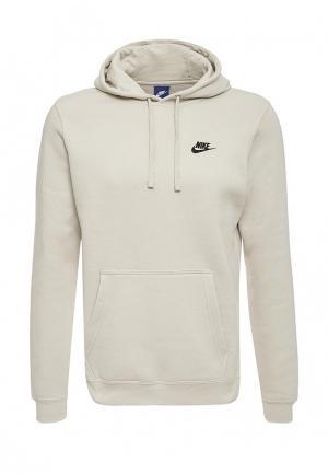Худи Nike. Цвет: бежевый