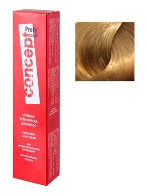 Стойкая Крем-краска для волос PROFY Touch 9.8 Перламутровый 60 мл (п) Concept. Цвет: серебристый