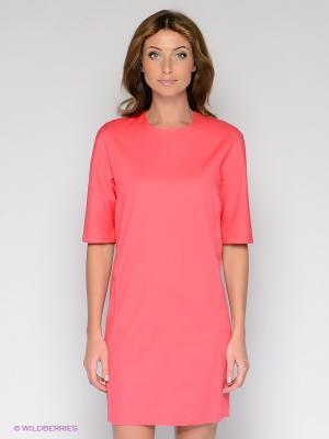 Платье Folgore. Цвет: розовый