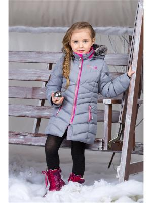 Пальто NANO. Цвет: серый