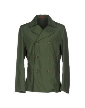 Легкое пальто MONTEDORO. Цвет: зеленый-милитари
