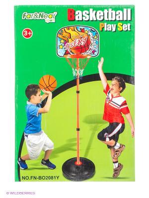 Стойка баскетбольная Far&Near. Цвет: зеленый
