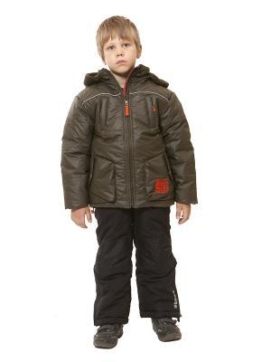 Куртка VELFI. Цвет: хаки