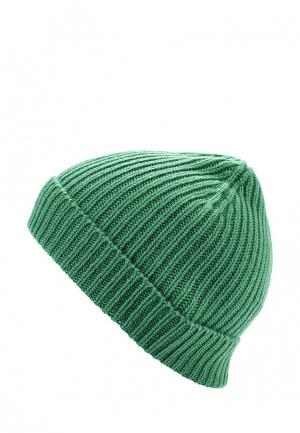 Шапка United Colors of Benetton. Цвет: зеленый