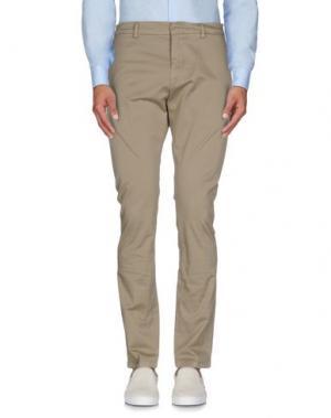 Повседневные брюки HЁLLS BЁLLS. Цвет: бежевый
