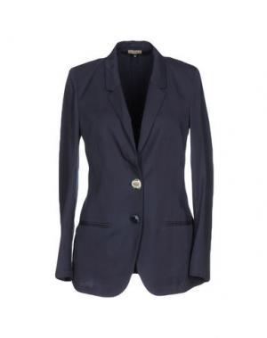 Пиджак MALÌPARMI. Цвет: темно-синий