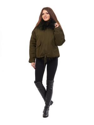 Куртка LaBella Vita. Цвет: зеленый