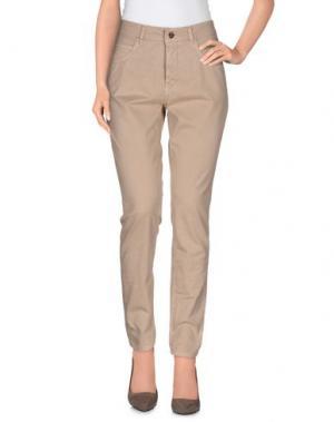 Повседневные брюки NELL&ME. Цвет: песочный