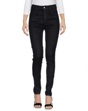 Джинсовые брюки SHAFT. Цвет: черный