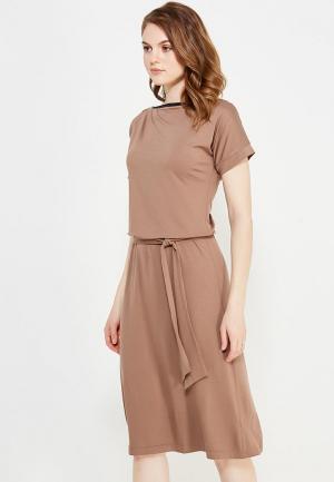 Платье Nife. Цвет: коричневый