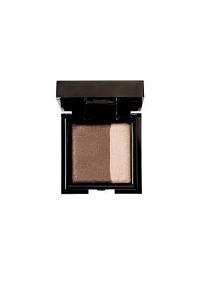 Запечённые двойные тени для сухого и влажного нанесения Noubatwin 33, 4гр NOUBA. Цвет: коричневый, бежевый
