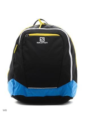 Рюкзак ORIGINAL GEAR BACKPACK SALOMON. Цвет: черный, голубой, белый