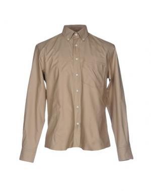 Pубашка UMIT BENAN. Цвет: бежевый