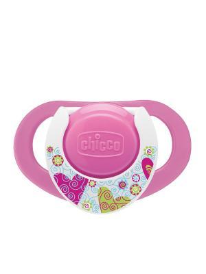 Пустышка Physio,2шт.,12мес.+,силикон,Нежность CHICCO. Цвет: розовый