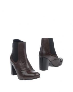 Полусапоги и высокие ботинки BALTARINI. Цвет: темно-коричневый
