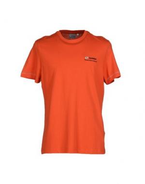 Футболка LOTTO. Цвет: оранжевый