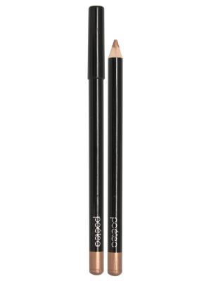 Гелевый карандаш для глаз AQUA, тон 75 POETEA. Цвет: золотистый