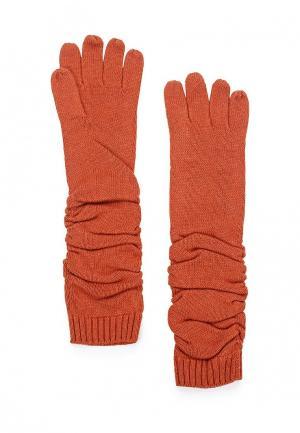 Перчатки Pur. Цвет: оранжевый
