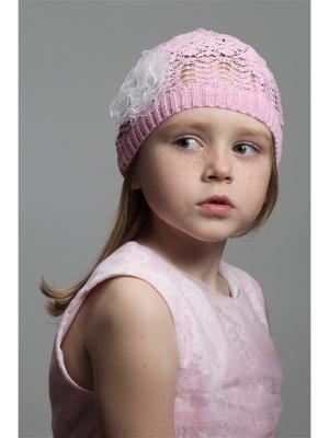 Шапка NELL. Цвет: розовый