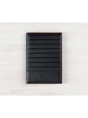 Бумажник водителя, Амадей черный Domenico Morelli. Цвет: черный