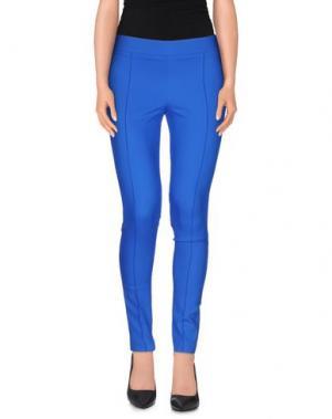 Повседневные брюки LA KORE. Цвет: синий