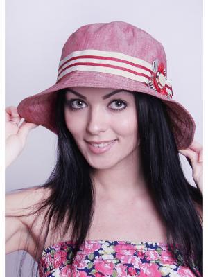 Шляпка Level Pro. Цвет: сиреневый, бледно-розовый